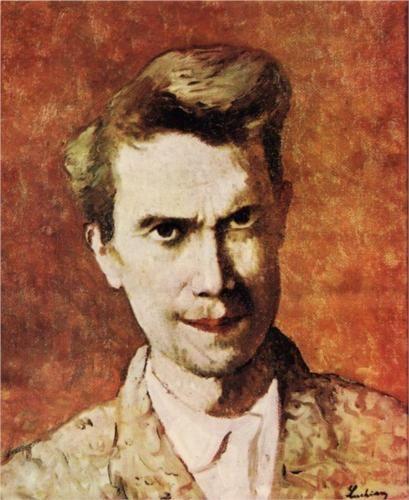Self-Portrait - Stefan Luchian (Romanian: 1868-1917)