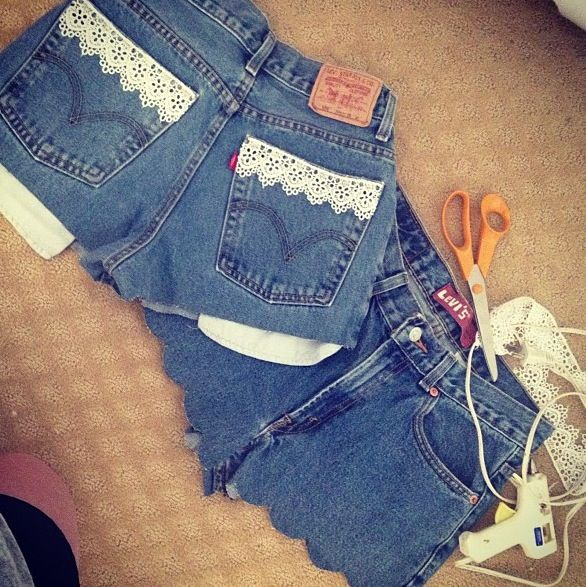 #diy Levi high wasted