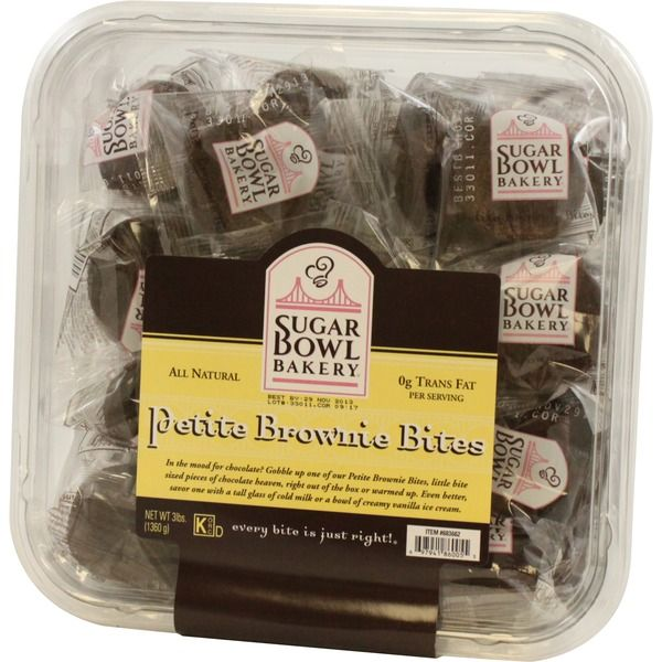 Sugar Bowl Bakery Petite Brownie Bites