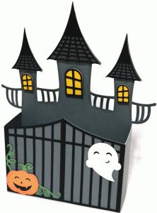 box halloween haunted house por Nilmara Quintela