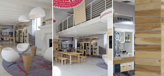 Cybercellar's Offices are located within the Tasting Room, shown in the middle image (the loft upstairs)