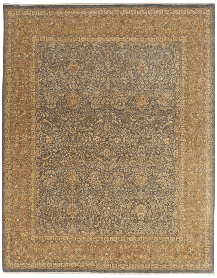 Fine Indian Hand Knotted Rug 8 X 10
