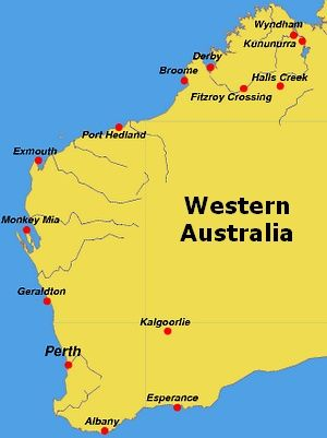 kimberley plateau map | Maps Of The Kimberley, Western Australia