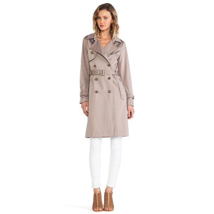 Perfect Womens Trench Coat : Ivory Trench Coat For Women