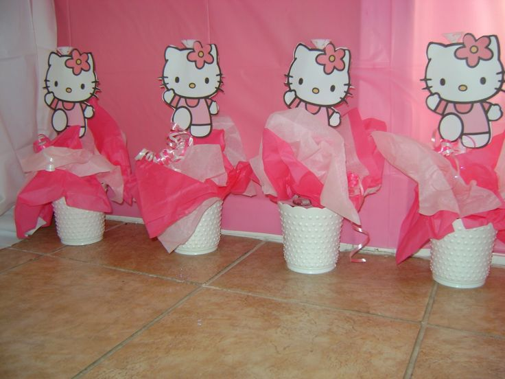 Top 25 Ideas About Hello Kitty Centerpieces On Pinterest Hello Kitty Birthday Hello Kitty