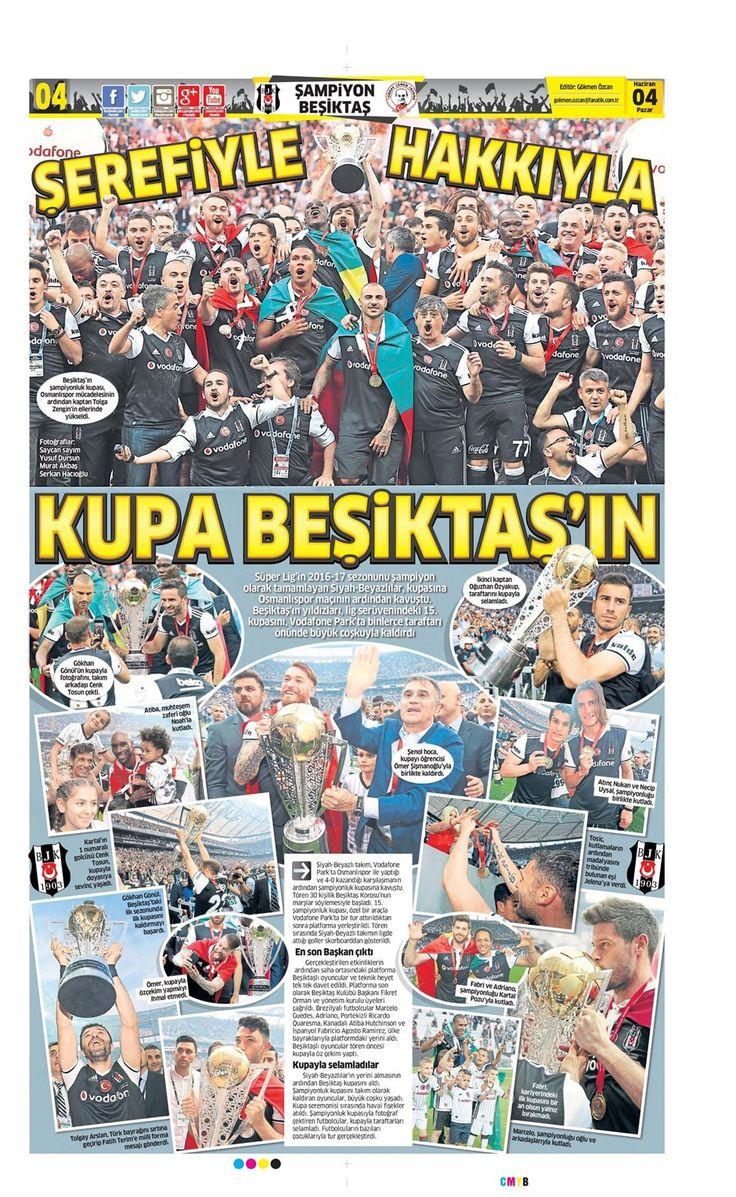 SPORUN MANŞETLERİ (4 HAZİRAN 2017) - 8 | NTVSpor.net