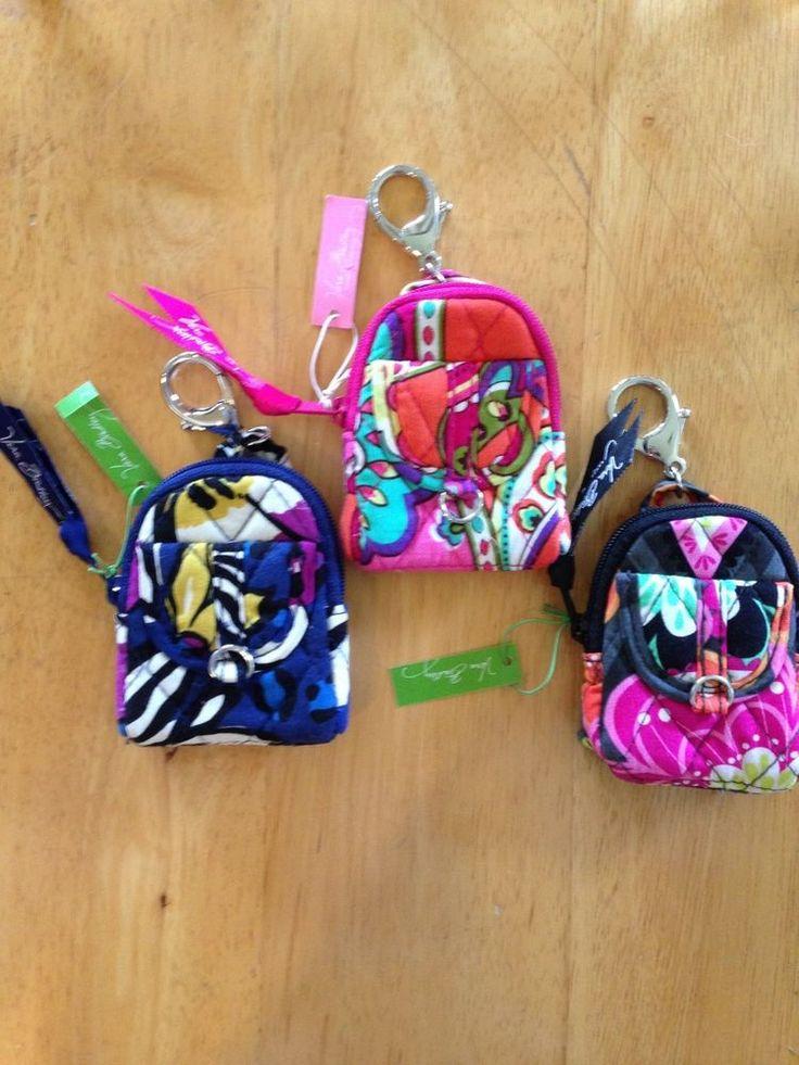 Vera Bradley Bitty Backpack Keychain NWT #VeraBradley