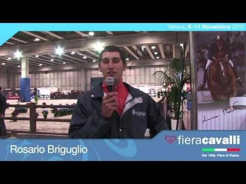 Intervista a Rosario Briguglio (Cavaliere) #fieracavalli