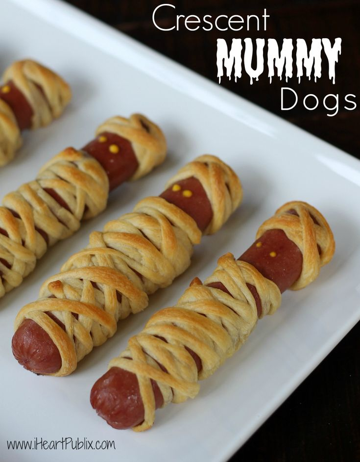 Crescent Mummy Dogs With Gwaltney Smoked Sausage – Great Price, Great Taste & Gr…