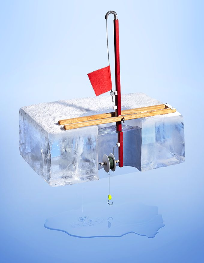1000 images about ice fishing ideas on pinterest for Ice fishing tip up line