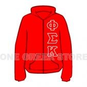 Phi Sigma Kappa Zip Up Hoodie #phisigmakappa