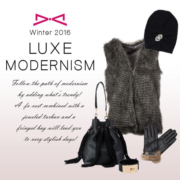 Follow modernism's rules.