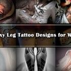 50 Sexy Leg Tattoo Designs for Women