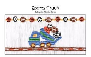 Sports Truck by Frances Messina Jones