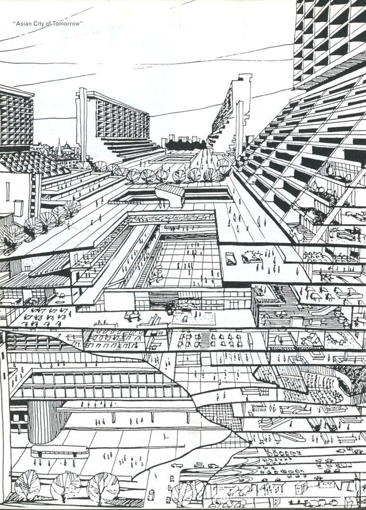 OMA - Rem Koolhaas   The Asian City of Tomorrow (la ciudad asíatica del futuro)   en el libro S,M,L,XL de Rem Koolhaas y Bruce Mau