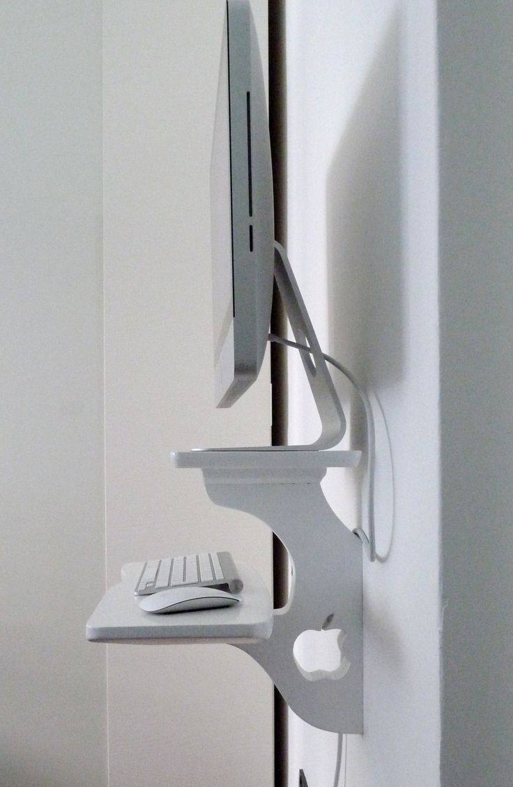 1000 images about wall mounted computers on pinterest computer desks wall mount and ikea drawers. Black Bedroom Furniture Sets. Home Design Ideas