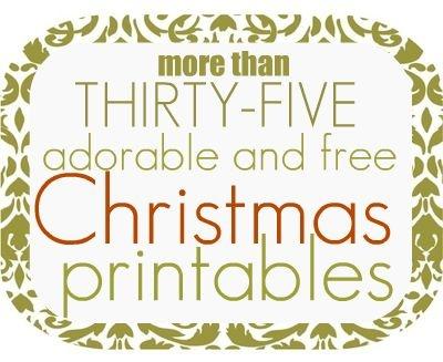 35+ FREE Christmas Printables!: Hershey Kiss, Christmas Printables, Free Christmas, Gift Tags, Christmas Tag, 35 Free, Free Printables, Holidays Christmas