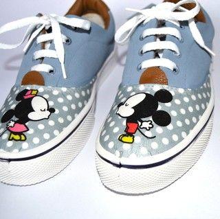 Zapatillas Mini Mickey y Minnie - comprar online