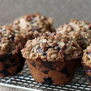 Blueberry Oat Muffins. These are seriously the best gluten free muffins you'll ever make!