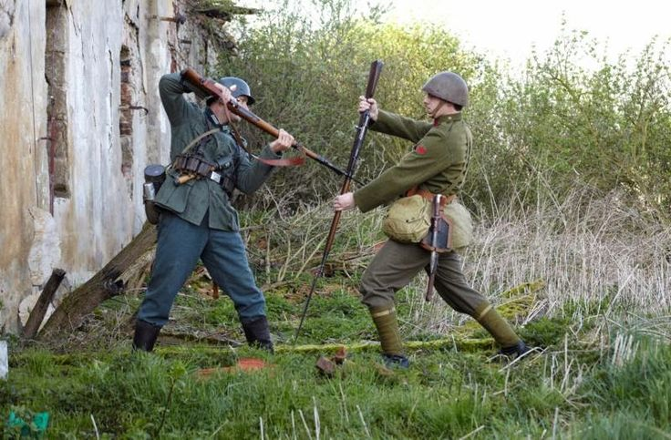 3D human referenses: WWII Infantry Close Combat