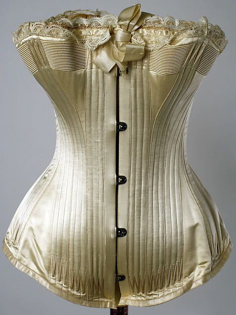 Corset mid-1880s   American   The Met