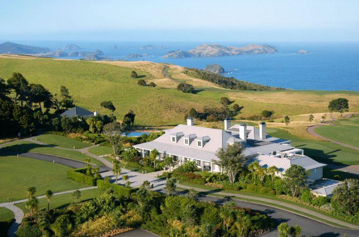 Kauri Cliffs Spring golf tournament