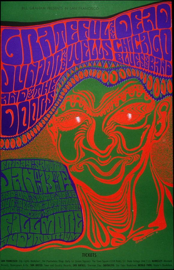 Rock Posters San Francisco images