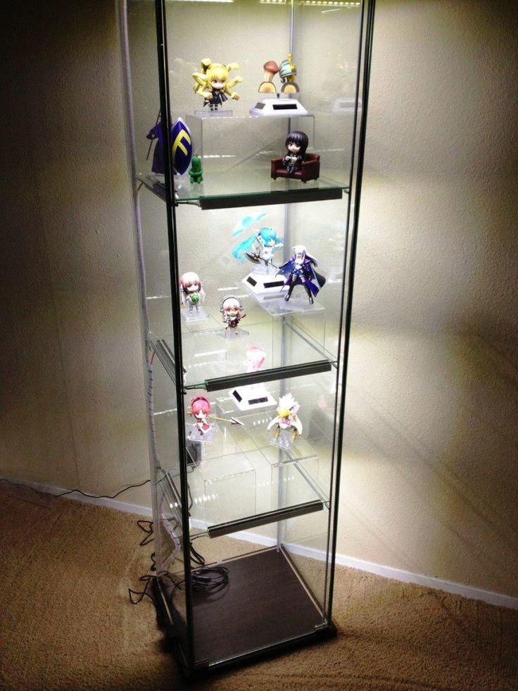 13 Detolf Glass Door Cabinet Lighting Gif, Display Cabinet Lighting Ideas