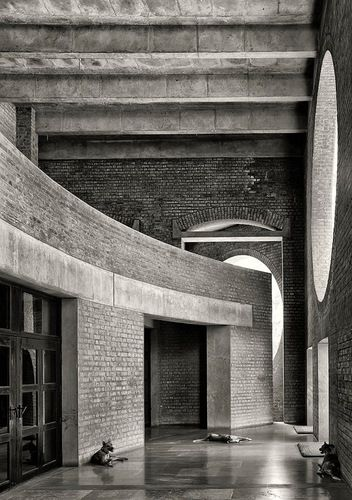 Louis I. Kahn — CEMAL EMDEN: Indian Institute of Management Ahmedabad