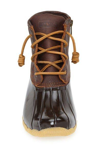 Sperry 'Saltwater' Duck Boot (Women) | Nordstrom size 9
