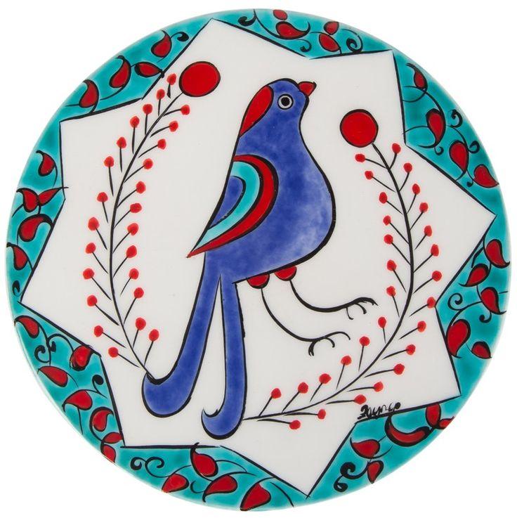 Seramik Nihale - Selçuklu Kuş | KOLEKSİYONLAR | Zeynep Tişkaya