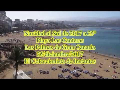 Navidad al Sol de 2017 a 25º Playa Las Canteras - Las Palmas de Gran Can...