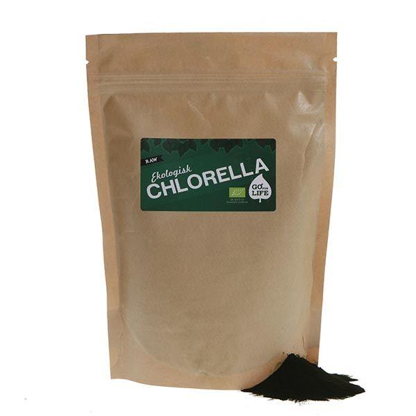 Chlorella (Ekologisk)  Chlorella är nästan lika gammalt som livet själv och kryllar av näringsrika vitaminer och mineraler. En superalg för din hälsa att bada i, med andra ord. http://goforlife.se/