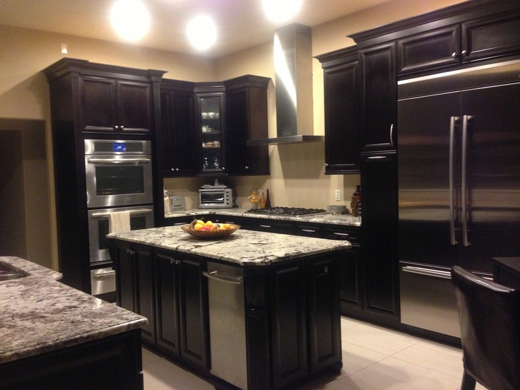 25 best ideas about espresso kitchen on pinterest for Cappuccino color kitchen cabinets