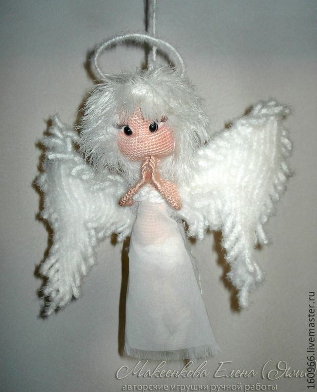 Guardian Angel Toy / Amigurumi Pinterest Angel and ...