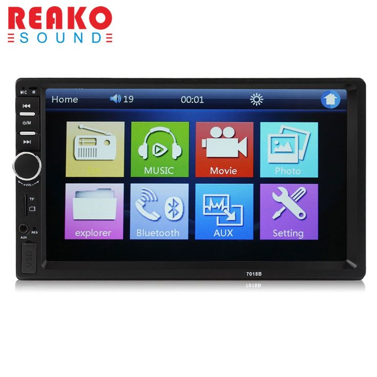 """57.25$  Watch now - http://alikmz.shopchina.info/go.php?t=32725229391 - """"REAKOSOUND Vehicle Audio DVD Player 7018B 2DIN car Bluetooth Audio 7"""""""" HD Radio In Dash Touch Screen MP3 MP5 Player Support USB"""" 57.25$ #bestbuy"""