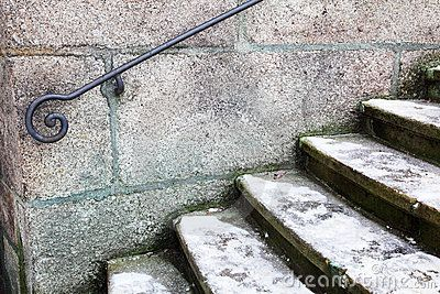 Metal handrail by Offscreen, via Dreamstime