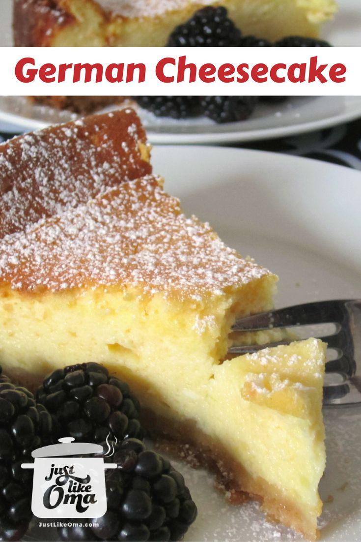 Learn how to make Cheesecake, German-style! Just the way my hubby likes it. Thankfully, it's easy to make. <3  Recipe:  http://www.quick-german-recipes.com/german-cheesecake-recipe.html  ~ Oma Gerhild ❤️