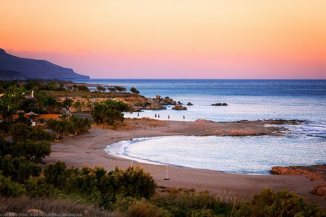 The Coastline at Xerocambos, East Coast, Crete, Greece | Flickr - Photo Sharing!
