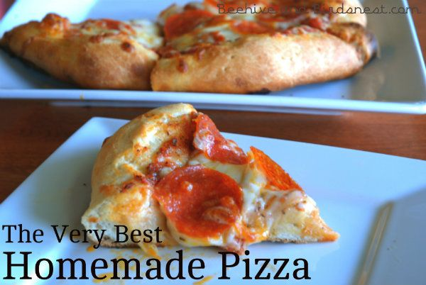 homemade pizza: Food Recipes, Fantastic Recipe, Foodie, Awesome Pizza, Entree Recipes, Dinner Recipes, Pizza Recipes, Favorite Recipes, Filling