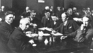 The Group of Seven  In 1920, J.E.H. MacDonald, Lawren Harris, A.Y. Jackson, Arthur Lismer, Franklin Carmichael, F.H. Varley and Frank Johnston officially formed this now famous group.