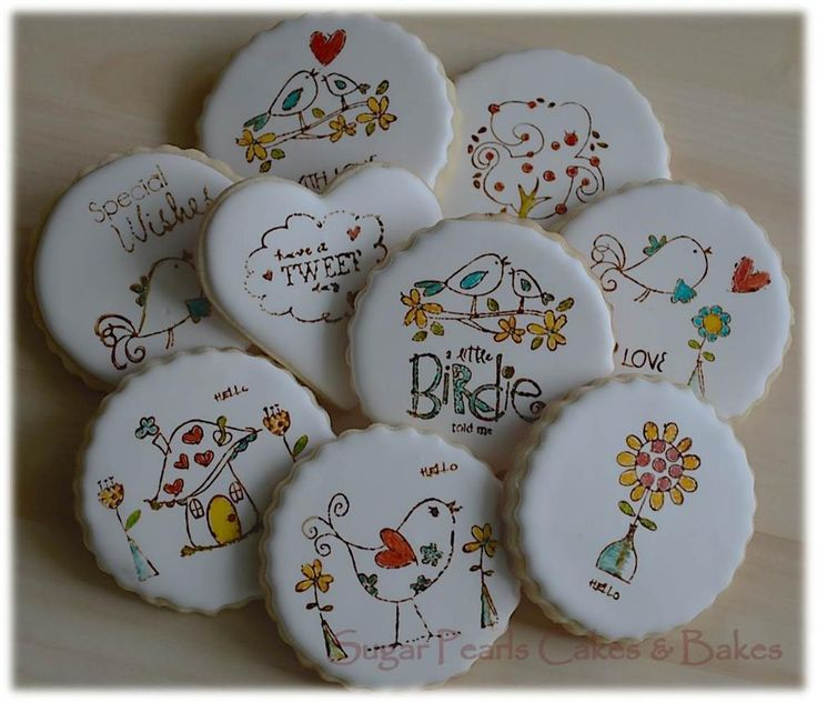 Stamped Cookies by Sugar Pearls Cakes and Bakes - 5