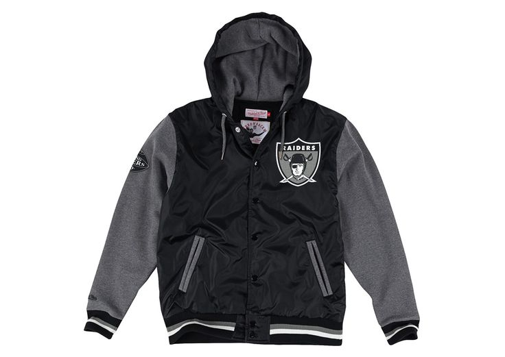League Standings Jacket Oakland Raiders - Mitchell & Ness