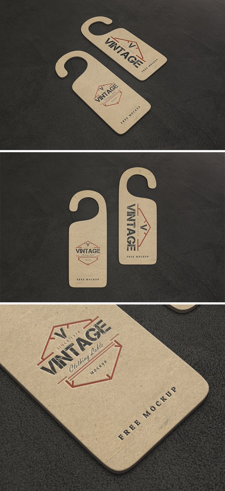 Free Vintage Label Mockups (202 MB)   By Ahmad Muradi on Behance   #free #photoshop #mockup