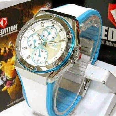 Jam Tangan Expedition E-6391 Silver White Blue RP 825,000 | BB : 21F3BA2F | SMS :083878312537