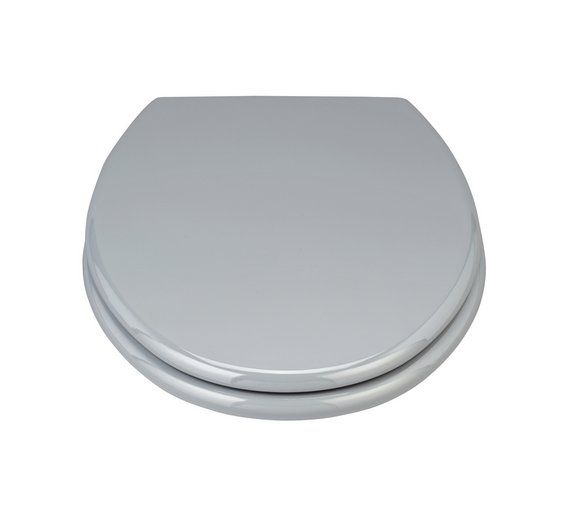 Buy ColourMatch Moulded Wood Toilet Seat - Flint Grey at Argos.co.uk, visit Argos.co.uk to shop online for Toilet seats, Bathroom accessories, Home furnishings, Home and garden