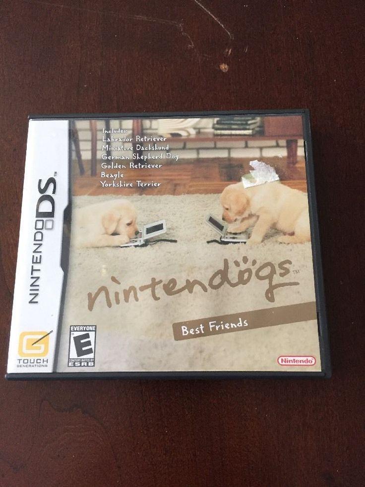 Nintendogs Best Friends Nintendo DS Lite DSi XL 3DS 2DS w/Case & Manual  | eBay