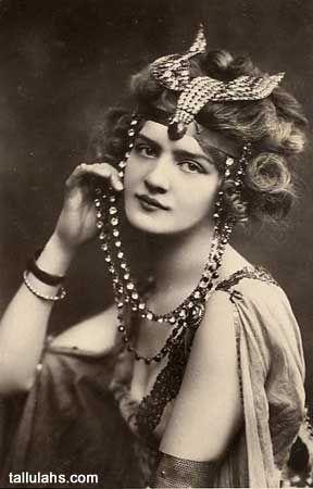 Lily Elsie, Vintage Egyptian Costume