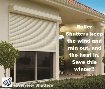 Sometimes a bit of effort now and save later. Roller shutters are still your best bet to keep the elements out during the harsh weather.  http://www.riverviewshutters.com.au/content/roller-shutters.html
