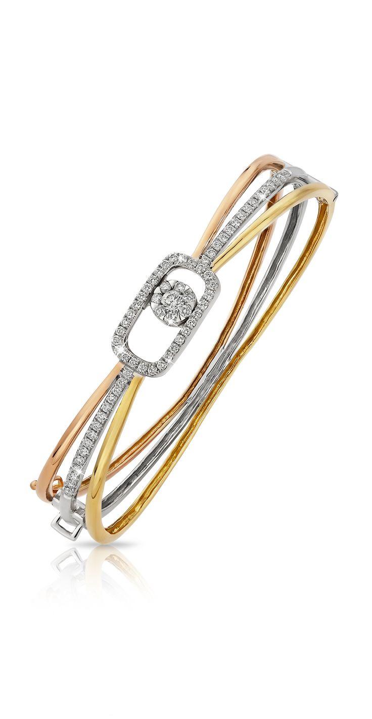 #lialijewellery #love #gift #tricolor #rosegold #yellowgold #whitegold #diamond…